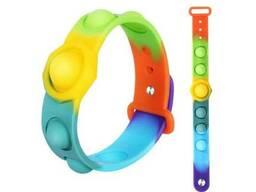 Поп ит (Pop It) браслет игрушка антистресс
