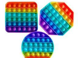 Поп ит (Pop it) разноцветный Круг
