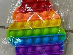 Поп ит (Pop it) разноцветный Мороженое