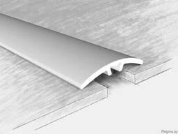 Порог алюминиевый 03501Н, серебро 135 см