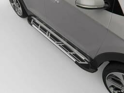 Пороги подножки обвесы алюминиевые. Доставка по РБ