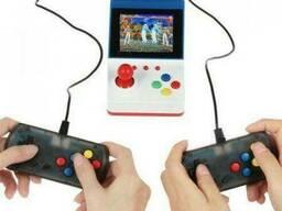 Портативная игровая приставка Retro Arcade FC + 360 встроенных игр + 2 геймпада (Белая)