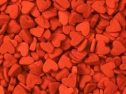 Посыпка Сердечки красные 50 г