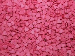 Посыпка Сердечки розовые 50 г