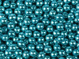 Посыпка шарики Хром голубые 5 мм, 50 г