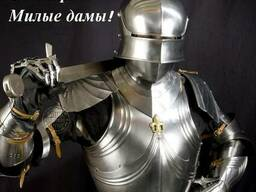 Поздравление Прекрасных Женщин на 8 марта рыцарями