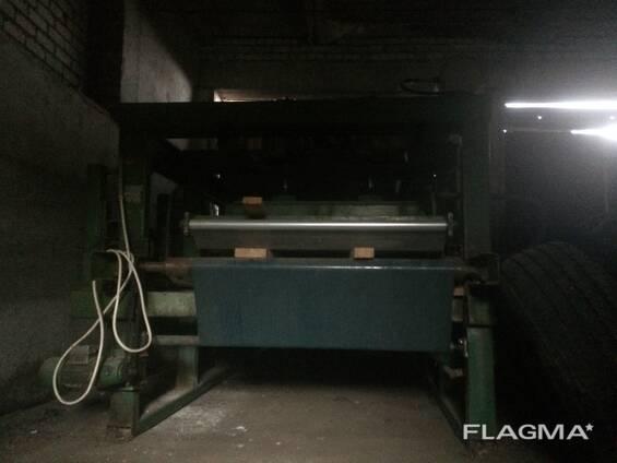 Пресс пневматич для горячей склейки меб щита Kallesoe