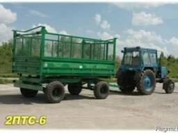 Прицеп самосвальный тракторный 2ПТС-6