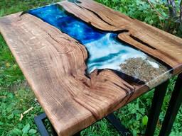 Прикроватный/придиванный стол 3D Море
