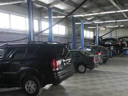 Продаем б/у автомобильные электрогидравлические подъемники