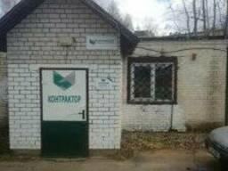Продается недорого склад с офисом в Поставах