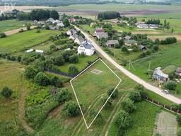 Продается ровный земельный участок 1,5 км от г. Смолевичи, 35 км от МКАД в д. Черниковщина