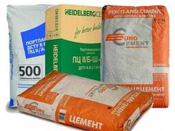 Продам цемент М500 Д20, мешки по 25 и 50 кг.