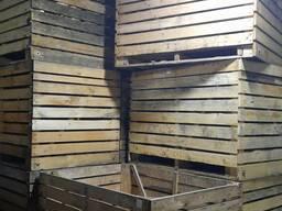 Контейнеры деревянные для картофеля