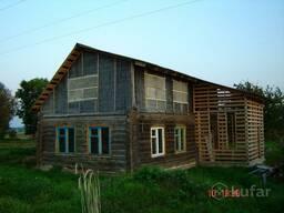 Продам дом в деревне на озере