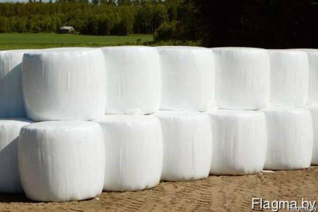 Стрейтч пленка для упаковки рулонов сенажа 25мкм(агрострейч)