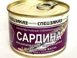 Продам свежемороженную рыбу.РФ .. Рыбные консервы.