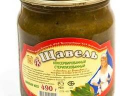 Продаю щавель консервированный Ляховичский КЗ РБ