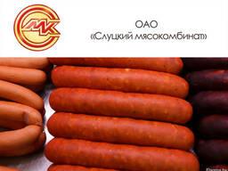 Продукция Слуцкого мясокомбината