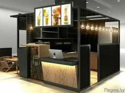 Проектирование зданий для бизнеса- павильоны, склады, сто,