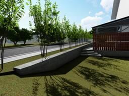 Проект подпорной стенки, проект фундаментов