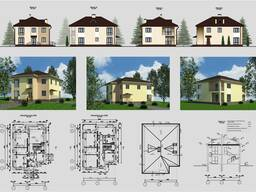 Проекты частных домов, коттеджей.