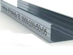 Профиль для гипсокартона СD 50х50/75х50/100х50 3м толщ. 0, 45