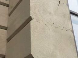 Профилированный брус естественной влажности (погонаж) 142х14 - фото 4