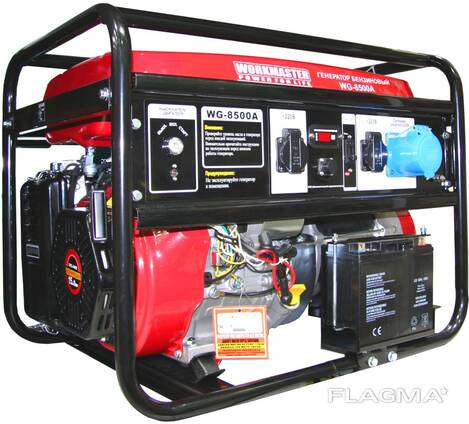 Прокат генератора 6 кВт workmaster wpg-8500A Новополоцк