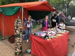Прокат Торговая Палатка стол торговый раскладной