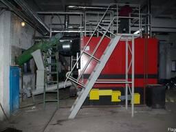 Промышленный котел на щепе и опилках - фото 2