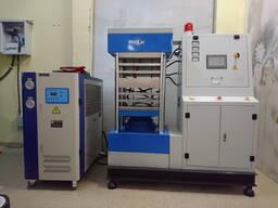 Промышленный термопресс для производства пластиковых карт