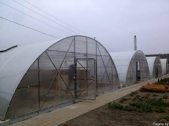Промышленные фермерские теплицы под поликарбонат