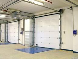 Промышленные ворота из тёплых сэндвич панелей ProTrend(Alute