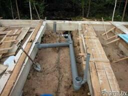 Провести воду в частный дом в Могилёве и области