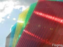 Прозрачный и цветной поликарбонат - фото 2