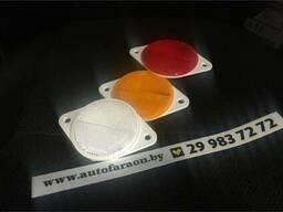 Прямоугольный светоотражатель c креплением на два винта