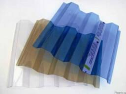 ПВХ лист Salux ( ПВХ шифер Салюкс) прозрачный и дымчатый.