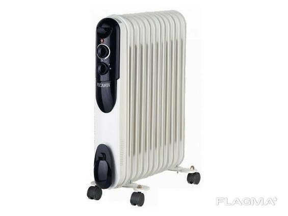 Радиатор масляный электрич. ОМПТ-12Н (2,5 кВт, 12 секций) Ресанта (650*140*570мм, пл. .. .