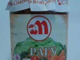 Рагу овощное из свежей капусты 0,5 л