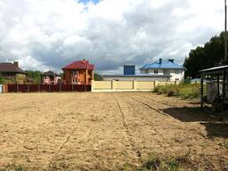Расчистка участка снос ветхих домов