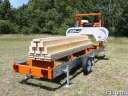 Распиловка леса с выездом к заказчику