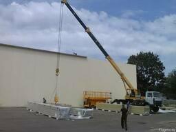 Разгрузка, выгрузка автокраном 16 тонн