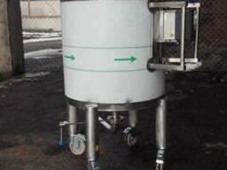 Реактор (смеситель) с мешалкой из нержавеющей стали