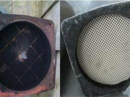 Регенерация (очистка) сажевых фильтров для грузовых машин