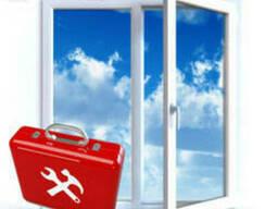 Регулировка и ремонт всех видов окон и дверей