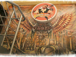 Рекламное граффити - фото 5
