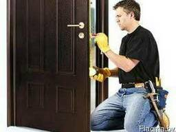 Ремонт дверей пвх, алюминиевых, деревянных и металлических