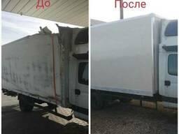 Ремонт фургонов - стены, пол, двери