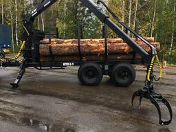 Ремонт лесовозных тележек кранов манипуляторов